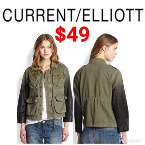 Current Elliott Lone Soldier Ombre jacket